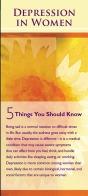 depression women five things nimh